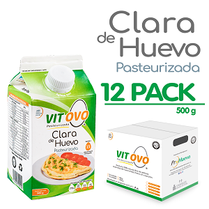 Clara Vitovo Gable Top 500 Gr (12 Pack)
